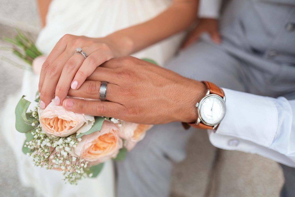 Ringen en juwelen voor verloving en huwelijk